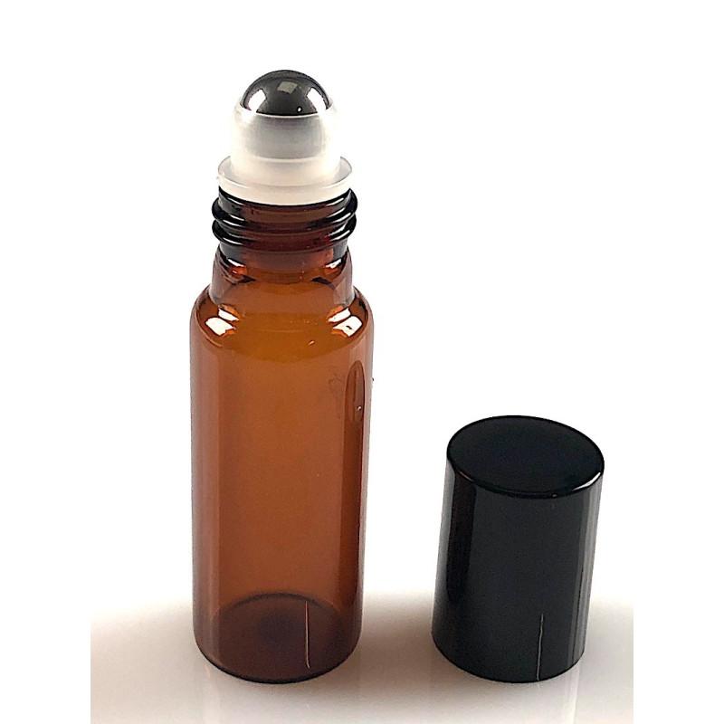 Flacon roll-on de 10 ML verre brun