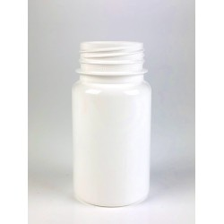 Pilulier Biodégradable 100ml PLA (Bioplastic) blanc