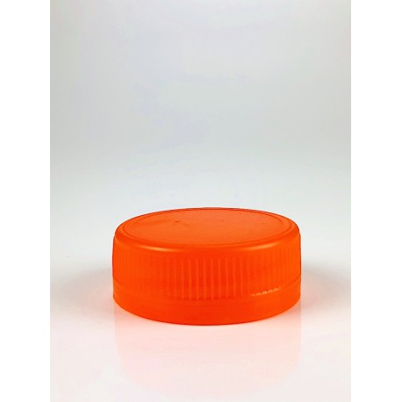 Capsule orange Inviolable avec lèvre autojointante 38mm