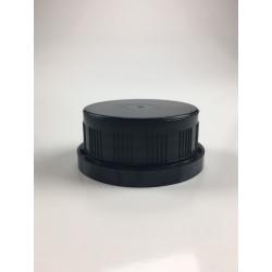 Capsule inviolable PE 37 noire jointée