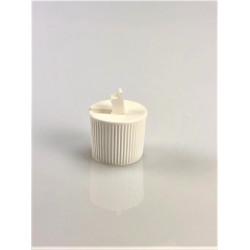 Bouchon à levier blanc à trou 3 mm