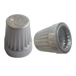 100 capsules grises inviolables avec sécurité enfant