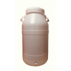 Fût 50 litres avec couvercle vissant