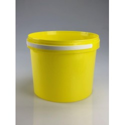 Seau conique 5,2 litres jaune par lot de 5