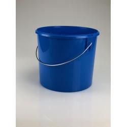 Seau conique 5 litres bleu par lot de 5