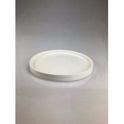Couvercle encliquetable blanc par lot de 5