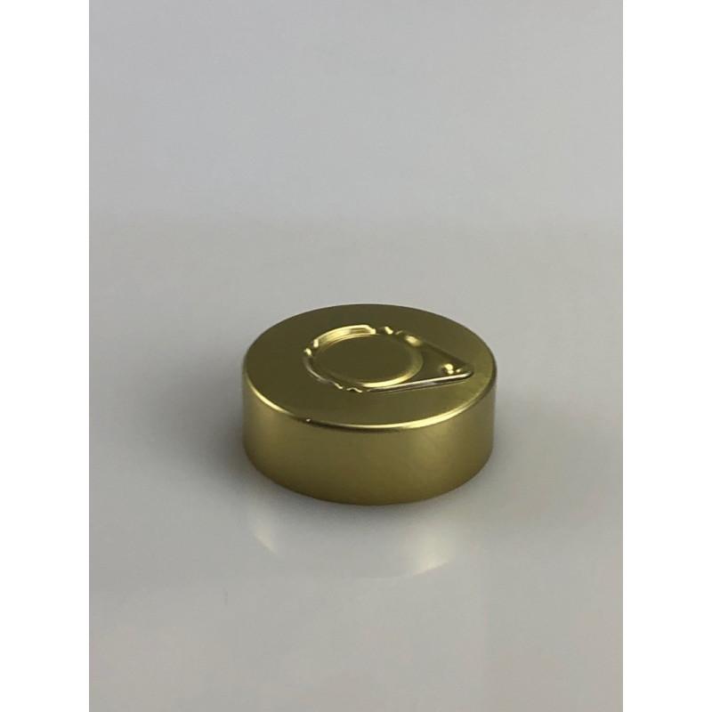 Capsule à sertir 32mm operculée alu or