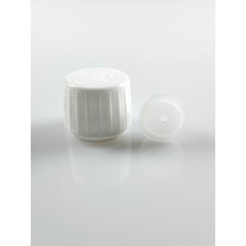 Capsule blanche à visser PP28 + insert réducteur