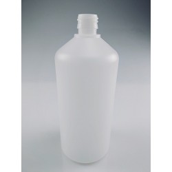 CRUCHON  1000ML PEHD NATUREL BAGUE PP28