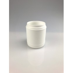 POT ROND CLIPABLE INVIOLABLE 800ML PEHD BLANC CI96