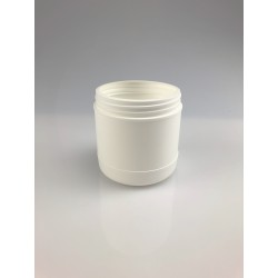 POT ROND A VIS 600ML BLANC 95V
